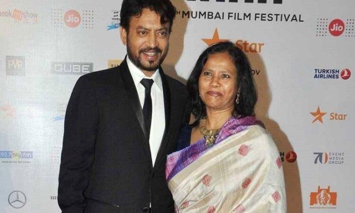 Irrfan Khan wife Sutapa Sikdar Wiki
