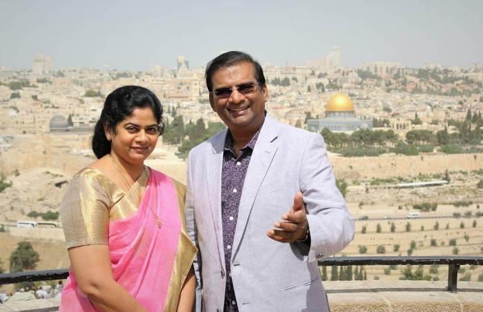 Paul Dhinakaran Wife Images